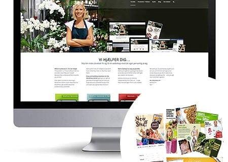 Webshop kategory - grafisk reklamer, sliders, nyhedsbrev banners...
