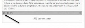 Step 3 - Save content slider to your templates section