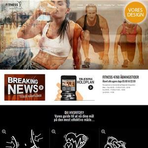 Fitness4760.dk Ny Wordpress Hjemmside