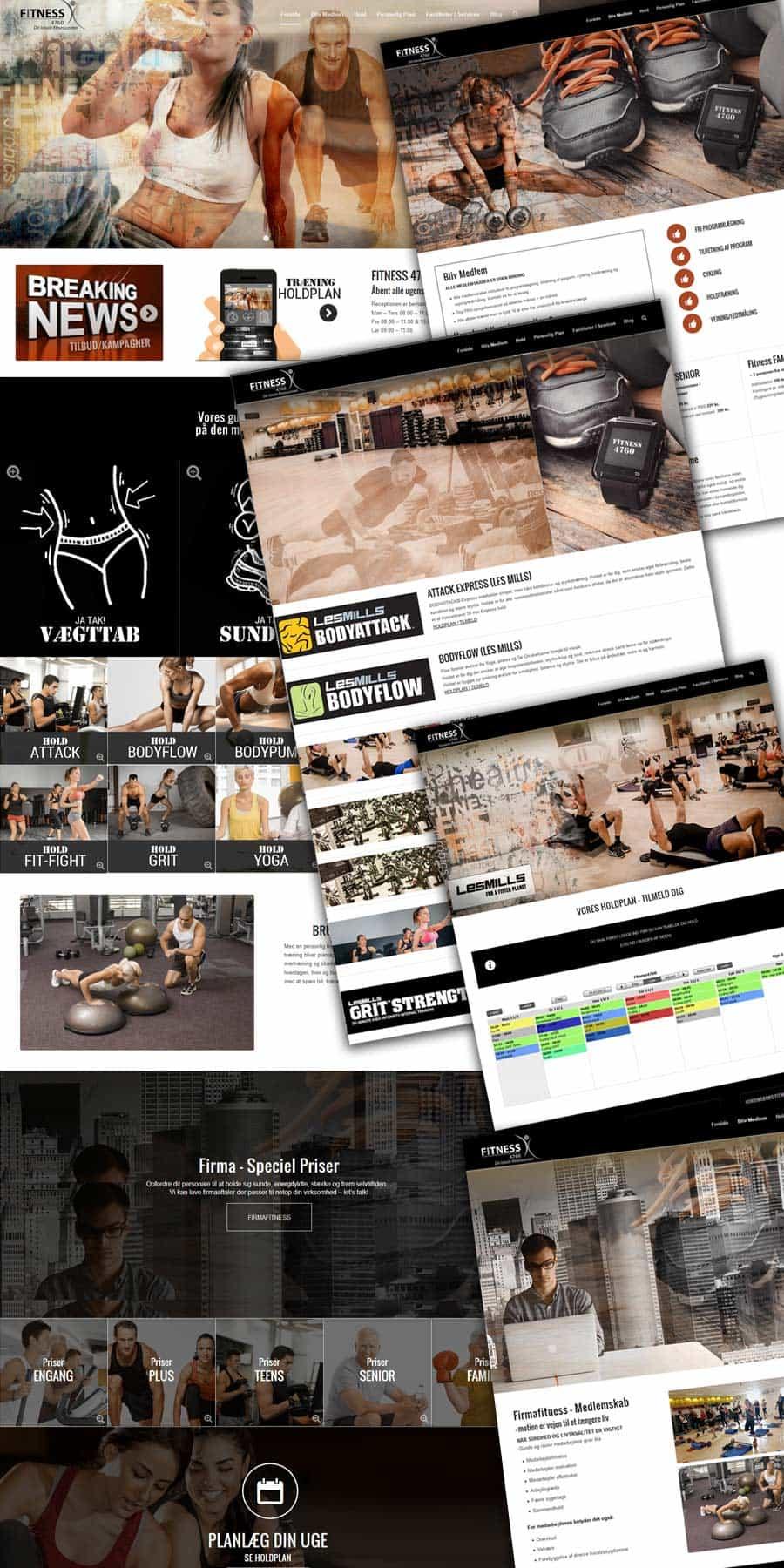 Efter Billeder - Fitness4760 hjemmeside