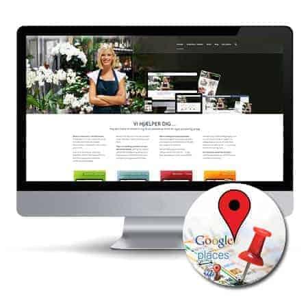 Google Places tilmelding