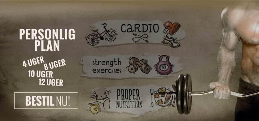Hjemmeside slider grafisk - Fitness4760.dk