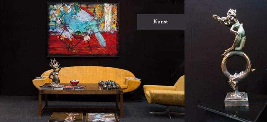 Hjemmeside slider grafisk - Linaart.dk