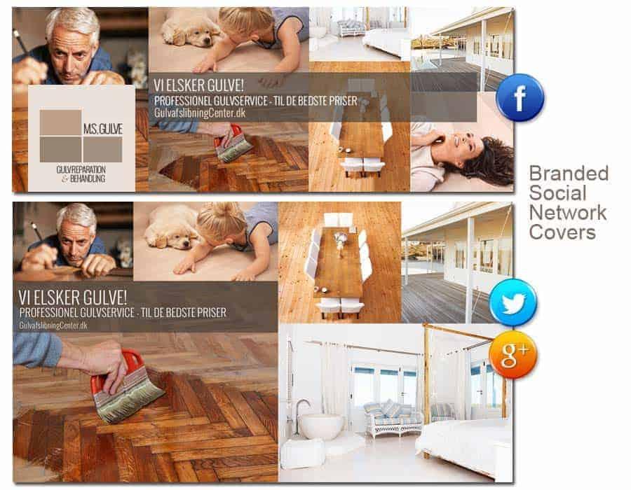 Social network grafisk covers