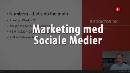 Video - Marketing med Social Medier