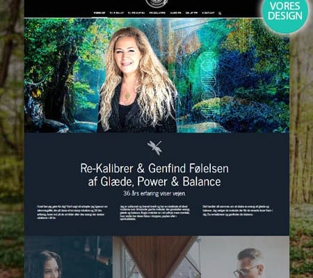 JetteHolm.dk forside snapshot