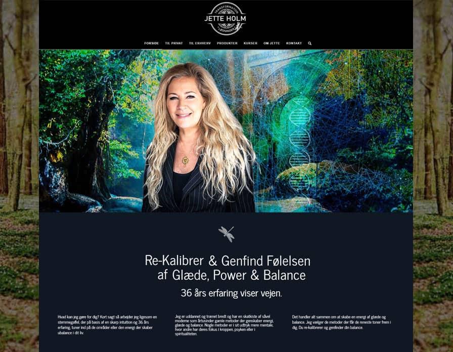 Jetteholm nye hjemmeside forside screenshot