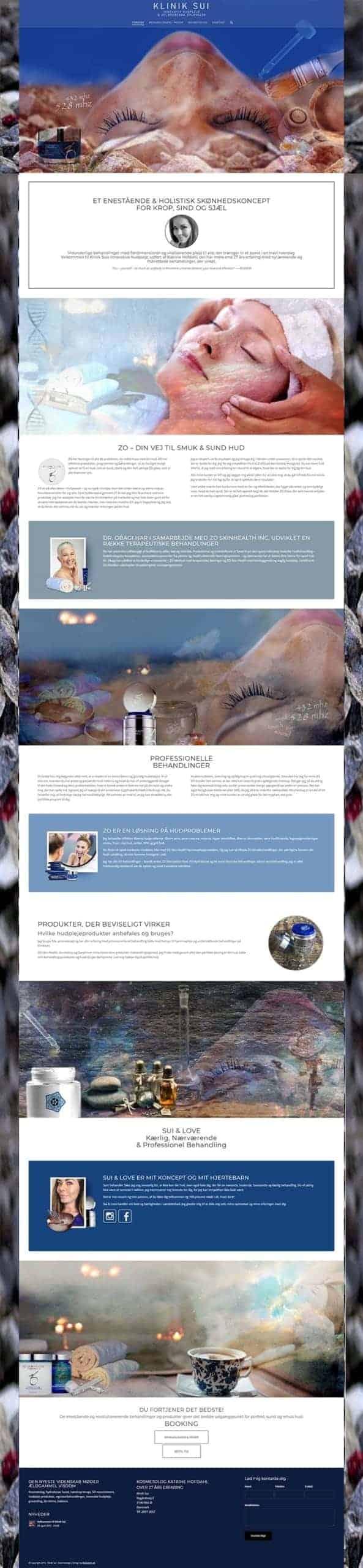 Hjemmeside re-brand