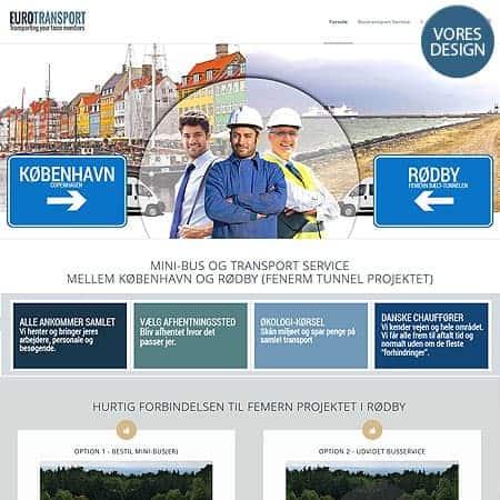 Bustorodby.dk - Design og hjemmeside opbygning af BizDoktor