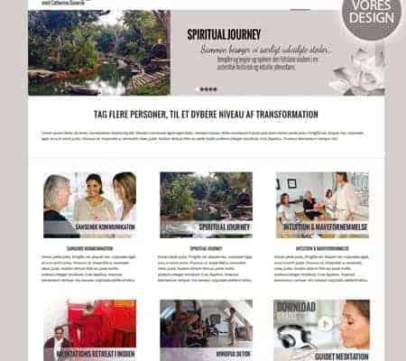Nyt wordpress hjemmeside design og opbygning af BizDoktor.dk