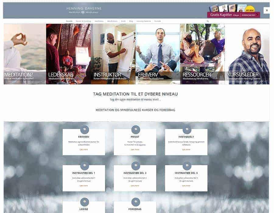 Ny Enfold responsive hjemmeside og woocommerce shop - HenningDaverne.dk