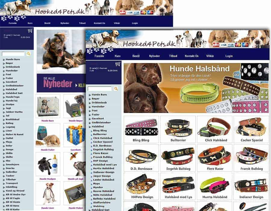 Referencer - Hooked4Pets full branding and design