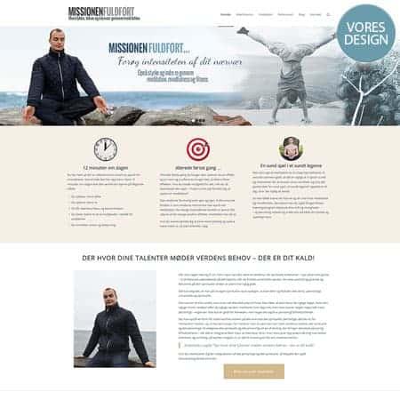 Marcus Daverne - nyt wordpress hjemmeside design
