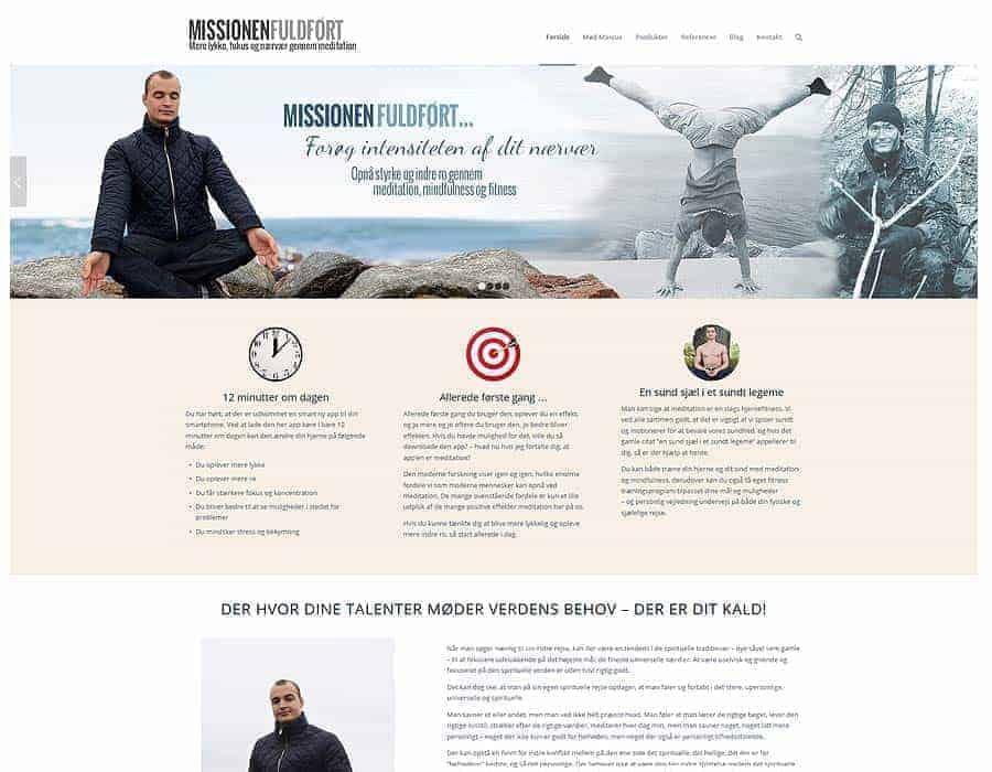 Wordpress hjemmeside referencer - MarcusDaverne.dk