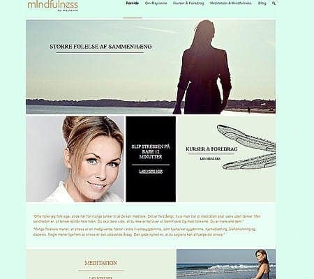 Ny wordpress hjemmeside - Mayianne Dinesen