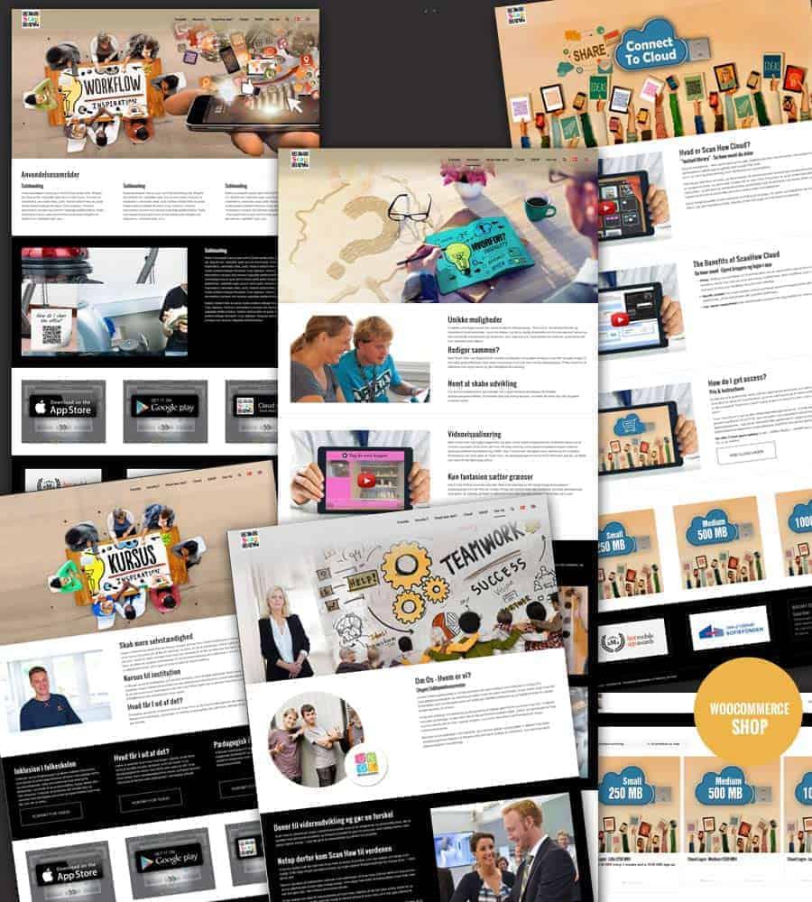 Snapshots af ny sider - Scanhow.dk