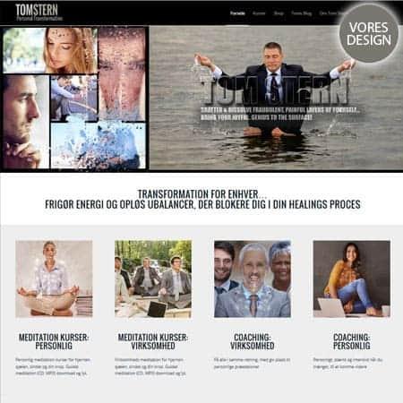 Bizdoktor referencer - Nyt Enfold wordpress tema, design og woocomerce til Tom Stern