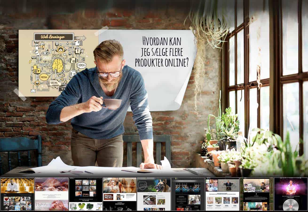 """Vi designer, udvikler og optimerer salgsstrategier, kampagner og gør disse """"bruger-venlige"""", så kunderne får lyst til at købe, med det formål for øje, at skabe langsigtet økonomisk velstand for vores kunder"""