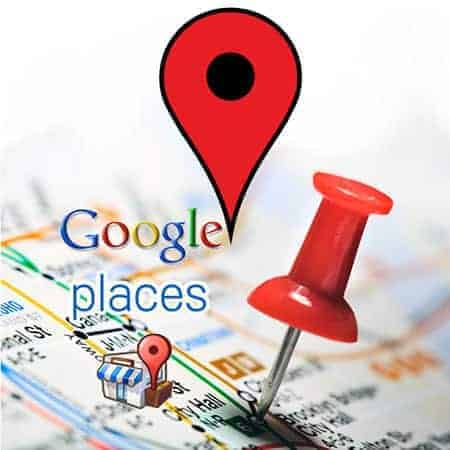 Webshop - Google places web service