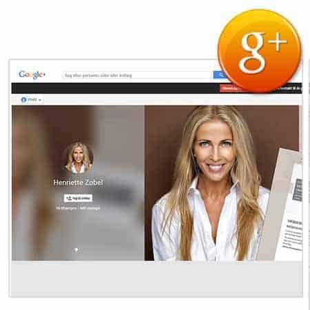 Webshop - Grafik Googleplus baggrunds cover