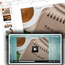 Virksomhed optimering, konverter Powerpoint til Videor