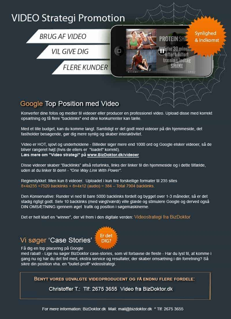 Promotions video fra Bizdoktor - Video-doktoren