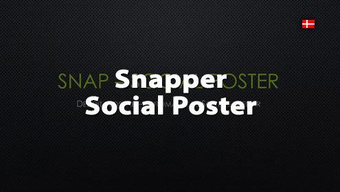 Video om SNAP Social Poster