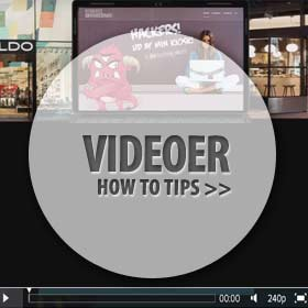 Videoer how to tips