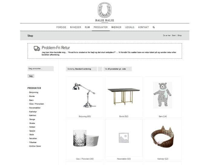 Installation af WooCommerce webshop til CosyCactus.dk