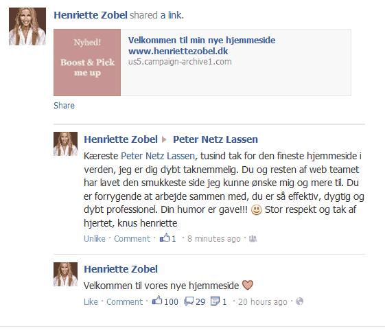 Henriettezobel.dk om BizDoktor